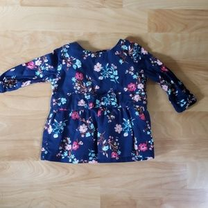 Carters floral top